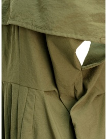 Salopette Miyao color khaki pantaloni donna acquista online