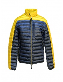 Parajumpers Bredford yellow and blue jacket for man PMJCKSX04 BREDFORD B.C. 5707 order online