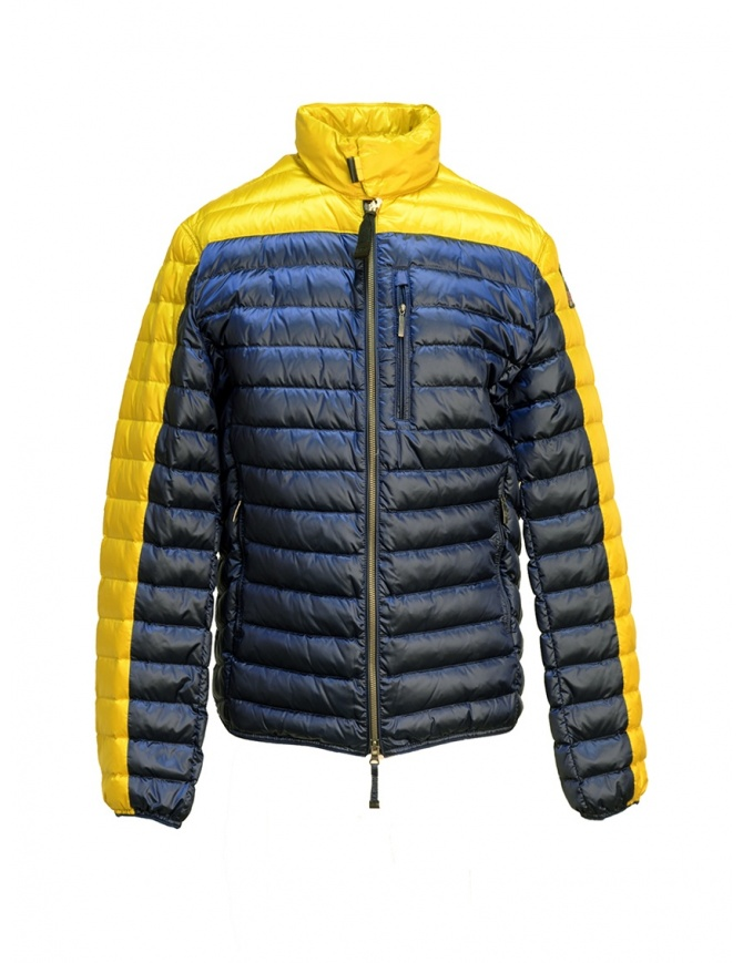 Giubbino Parajumpers Bredford giallo e blu da uomo PMJCKSX04 BREDFORD B.C. 5707 giubbini uomo online shopping