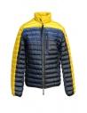 Giubbino Parajumpers Bredford giallo e blu da uomo acquista online PMJCKSX04 BREDFORD B.C. 5707