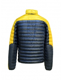 Parajumpers Bredford yellow and blue jacket for man