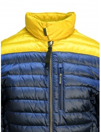 Parajumpers Bredford yellow and blue jacket for man price