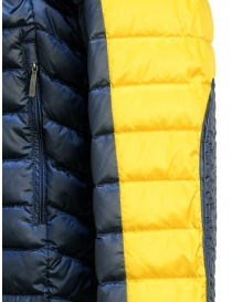 Parajumpers Bredford yellow and blue jacket for man mens jackets price