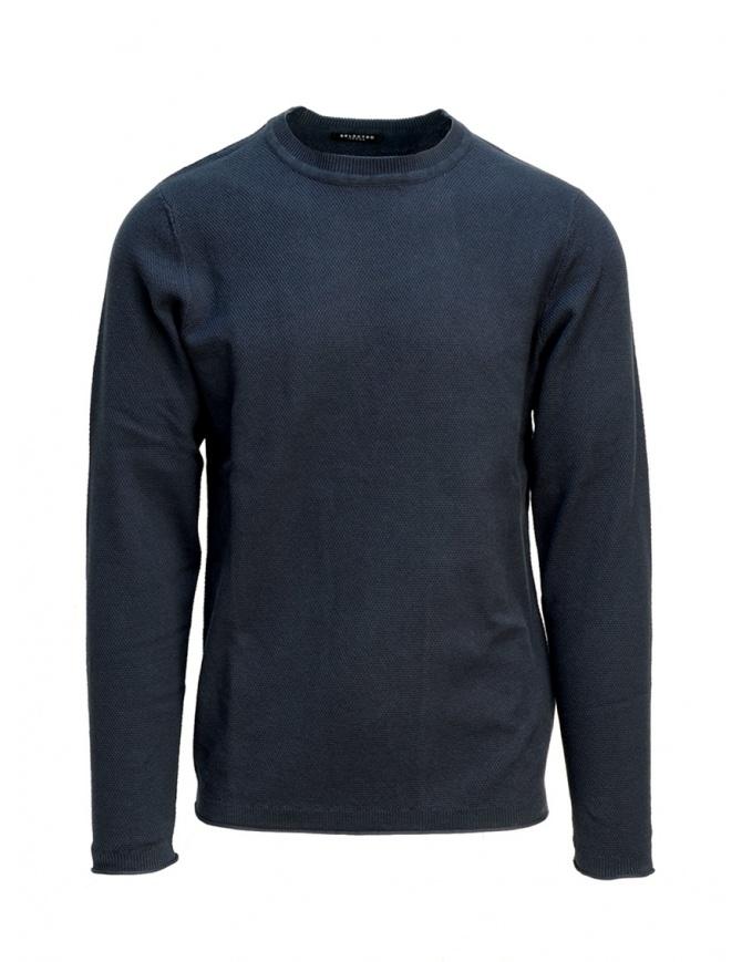 Selected Homme dark sapphire blue pullover 16067495 DARK SAPPHIRE mens knitwear online shopping