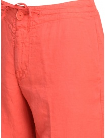 European Culture coral red trousers price