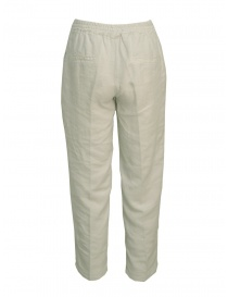 European Culture pearl grey trousers