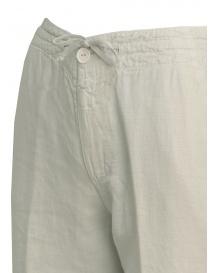 Pantaloni European Culture colore grigio perla prezzo
