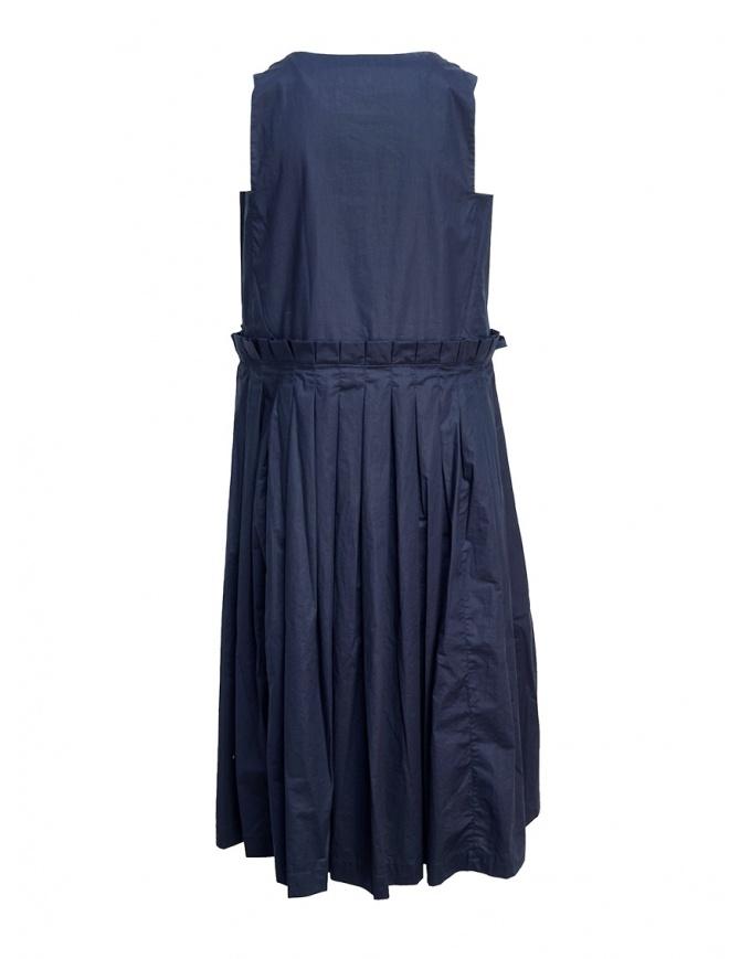 Abito Casey Casey blu navy con plissettatura 12FR251 NAVY abiti donna online shopping