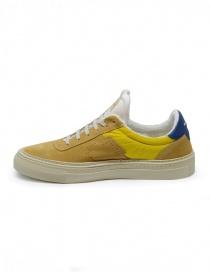 Sneakers BePositive Roxy gialle e blu
