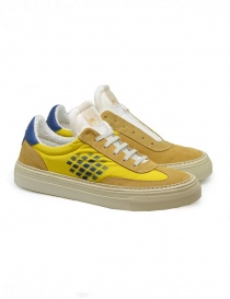 BePositive Roxy yellow and blue sneakers online
