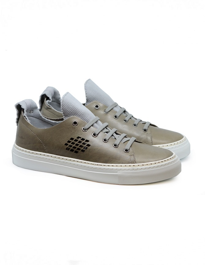 BePositive Ambassador light grey sneakers 9SARIA08/LEA/GRY mens shoes online shopping