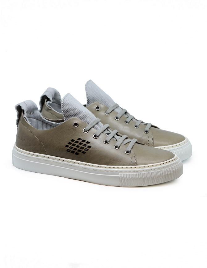 Sneakers BePositive Ambassador colore tortora e grigio 9SARIA08/LEA/GRY calzature uomo online shopping