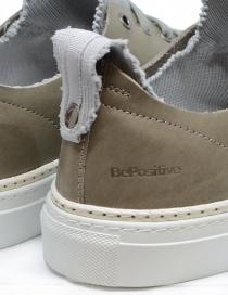 Sneakers BePositive Ambassador colore tortora e grigio calzature uomo prezzo