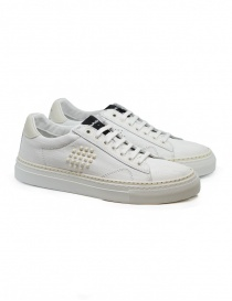 Mens shoes online: BePositive Track_02 white and ivory sneakers