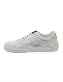 Sneaker BePositive Track_02 bianca e avorio