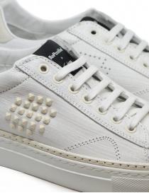 Sneaker BePositive Track_02 bianca e avorio calzature uomo acquista online