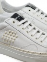 BePositive Track_02 white and ivory sneakers 9SARIA11/GES/WHI buy online