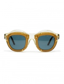Kuboraum Maske W1 glasses in champagne and brown acetate online