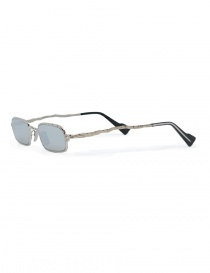 Kuboraum Maske Z18 metal sunglasses in silver color