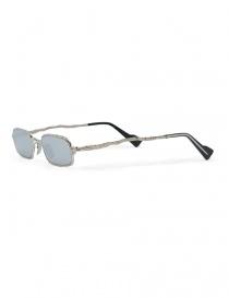 Occhiale da sole Kuboraum Maske Z18 metallo argentato