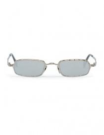 Occhiale da sole Kuboraum Maske Z18 metallo argentato Z18 48-22 SI silver