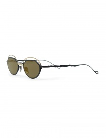 Kuboraum Maske H70 metal gold and black sunglasses