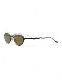 Occhiale da sole Kuboraum Maske H70 metallo oro e nero