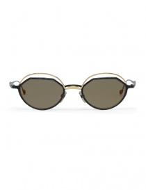Occhiali online: Occhiale da sole Kuboraum Maske H70 metallo oro e nero