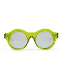 Kuboraum A1 sunglasses in green acetate online