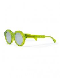 Occhiali da sole Kuboraum Maske A1 in acetato verde