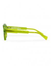 Occhiali da sole Kuboraum A1 in acetato verde prezzo