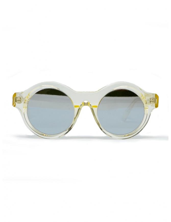Occhiali da sole Kuboraum Maske A1 in acetato trasparente A1 44-21 CHP silver occhiali online shopping