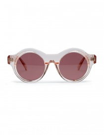 Occhiali online: Occhale da sole Kuboraum Maske A1 in acetato rosa