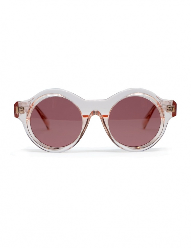 Kuboraum A1 sunglasses in pink acetate A1 44-21 TP D.pink glasses online shopping