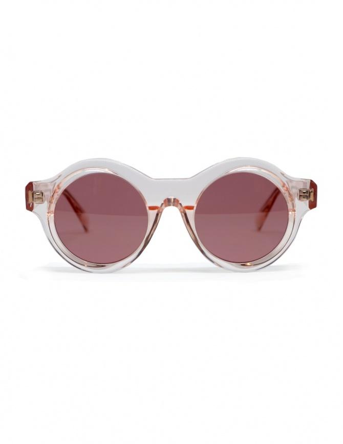 Occhale da sole Kuboraum A1 in acetato rosa A1 44-21 TP D.pink occhiali online shopping