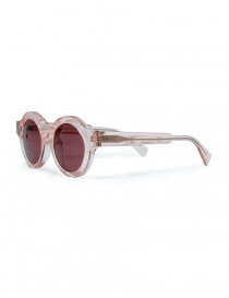 Kuboraum A1 sunglasses in pink acetate