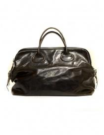 Delle Cose shoulder handbag in horse leather 13 HORSE ASFALTO