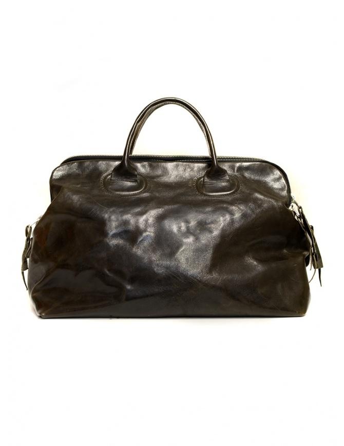 Delle Cose shoulder handbag in horse leather 13 HORSE ASFALTO bags online shopping