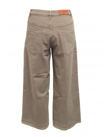 AvantgarDenim beige palazzo trousers buy online