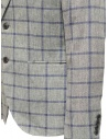 Selected Homme jacket with grey and blue squares 16067388 GREY/BLUE price