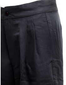European Culture navy plated trousers price