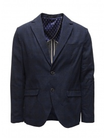 Mens suit jackets online: Selected Homme blue and navy suit jacket