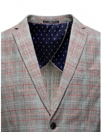 Selected Homme checkered grey suit jacket