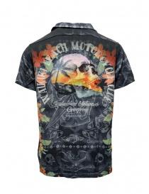 Rude Riders Waikiki beach and skull shirt
