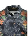 Camicia Rude Riders teschio con spiaggia Waikiki R03222 73999 prezzo