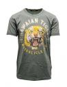 T-shirt Rude Riders Hawaian Tiger colore salvia acquista online R03042 54619 GREEN