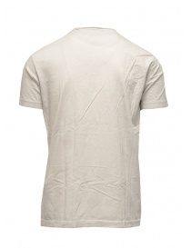 T-shirt Rude Riders bianca con teschio e spiaggia acquista online