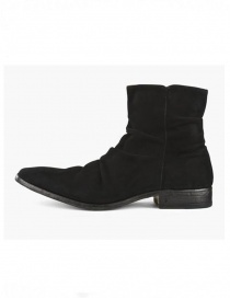 John Varvatos boots in black suede