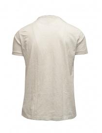 T-shirt Rude Riders avorio con stancil teschio arcobaleno prezzo