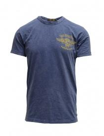 T-shirt Rude Riders LA California Skull R03012 54522 BLUE order online